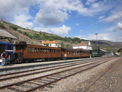 Comboio histórico no Douro